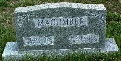 MACUMBER, WINIFRED LEONE - Madison County, Iowa | WINIFRED LEONE MACUMBER