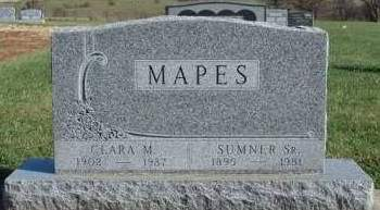 MAPES, CLARA MAGGIE - Madison County, Iowa | CLARA MAGGIE MAPES