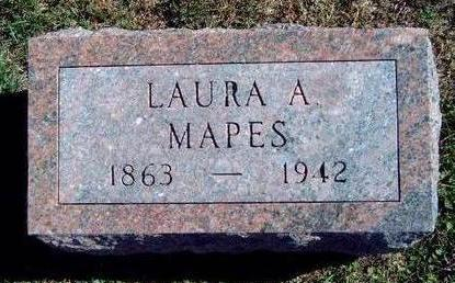 MAPES, LAURA A. - Madison County, Iowa | LAURA A. MAPES