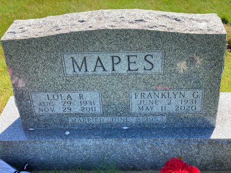 MAPES, LOLA RUTH - Madison County, Iowa | LOLA RUTH MAPES