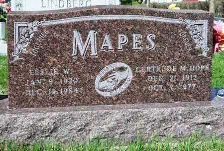 HOPE MAPES, GERTRUDE MYRTLE - Madison County, Iowa | GERTRUDE MYRTLE HOPE MAPES