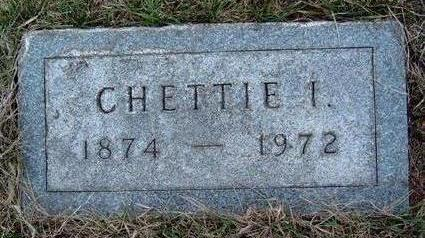 MAPES STANLEY, CHETTIE IRENE - Madison County, Iowa | CHETTIE IRENE MAPES STANLEY