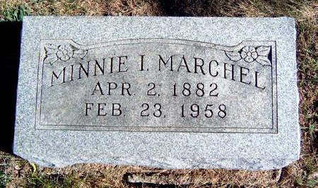 LITTLE MARCHEL, MINNIE I. - Madison County, Iowa | MINNIE I. LITTLE MARCHEL