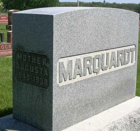 MARQUARDT, AUGUSTA M. - Madison County, Iowa | AUGUSTA M. MARQUARDT