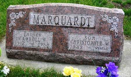 MARQUARDT, CARROLL WILLIAM - Madison County, Iowa | CARROLL WILLIAM MARQUARDT