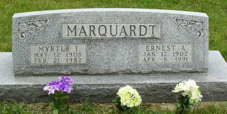 MARQUARDT, ERNEST ALBERT - Madison County, Iowa | ERNEST ALBERT MARQUARDT