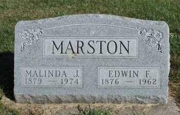 MARSTON, EDWIN FLETCHER - Madison County, Iowa | EDWIN FLETCHER MARSTON