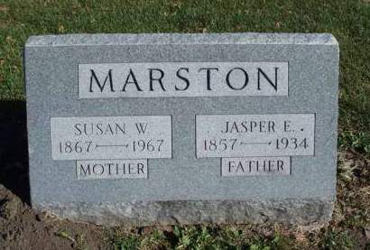 MARSTON, SUSAN W. - Madison County, Iowa | SUSAN W. MARSTON