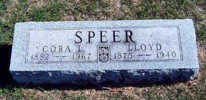 MARSTON SPEER, CORA L. - Madison County, Iowa | CORA L. MARSTON SPEER