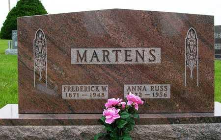 MARTENS, FREDERICK WILLIAM - Madison County, Iowa | FREDERICK WILLIAM MARTENS
