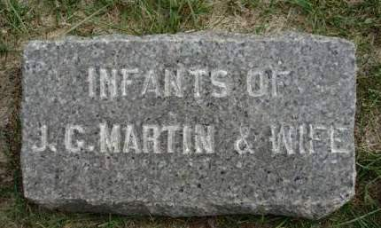MARTIN, INFANT - Madison County, Iowa | INFANT MARTIN