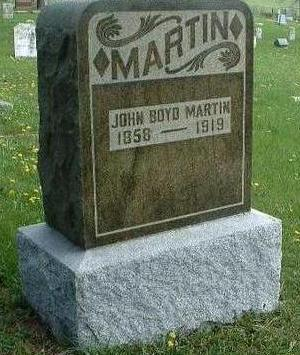 MARTIN, JOHN BOYD - Madison County, Iowa | JOHN BOYD MARTIN