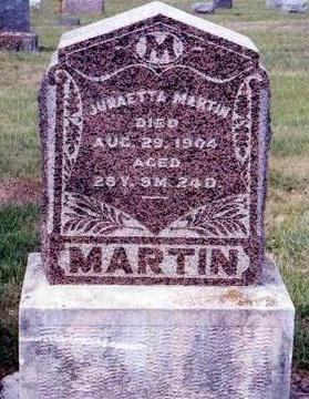 MARTIN, JURAETTA - Madison County, Iowa | JURAETTA MARTIN