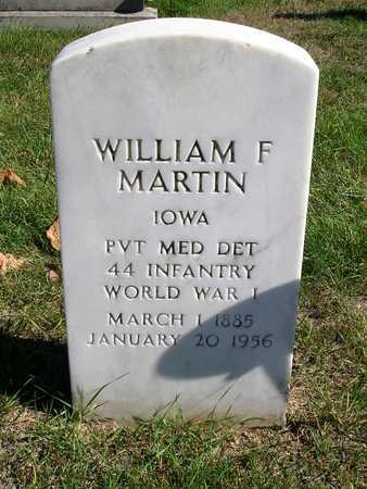 MARTIN, WILLIAM F. - Madison County, Iowa | WILLIAM F. MARTIN