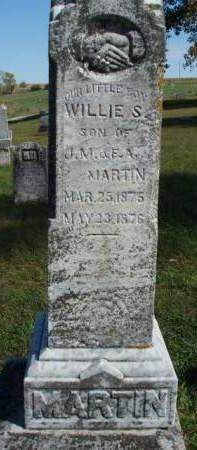 MARTIN, WILLIAM SHARP (WILLIE /LITTLE BOY) - Madison County, Iowa | WILLIAM SHARP (WILLIE /LITTLE BOY) MARTIN