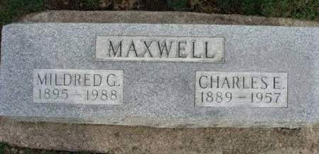 MAXWELL, MILDRED GRACE - Madison County, Iowa | MILDRED GRACE MAXWELL