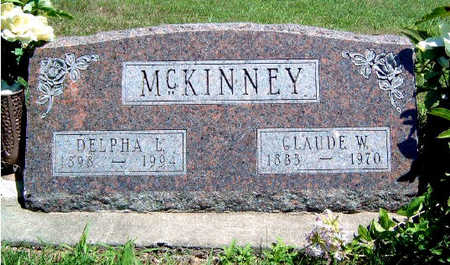 MAYNE MCKINNEY, DELPHA LELA - Madison County, Iowa | DELPHA LELA MAYNE MCKINNEY