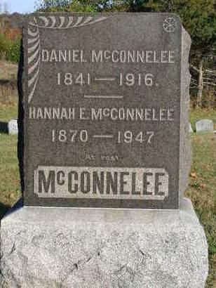 MCCONNELEE, HANNAH E. - Madison County, Iowa | HANNAH E. MCCONNELEE
