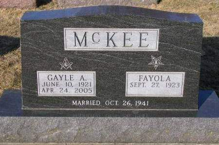MCKEE, FAYOLA - Madison County, Iowa | FAYOLA MCKEE