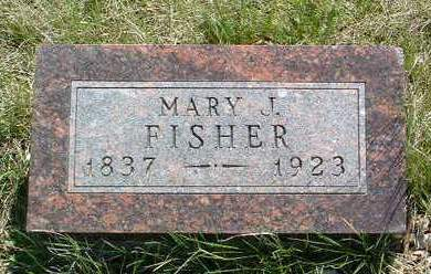 MCMILLAN FISHER, MARY JANE - Madison County, Iowa | MARY JANE MCMILLAN FISHER