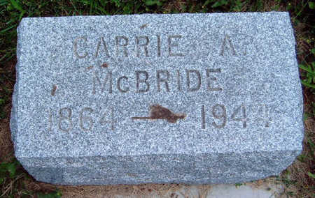 MCBRIDE, CARRIE AUGUSTA - Madison County, Iowa | CARRIE AUGUSTA MCBRIDE