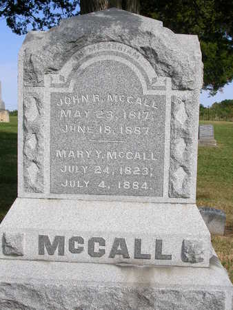 MCCALL, MARY Y. - Madison County, Iowa | MARY Y. MCCALL
