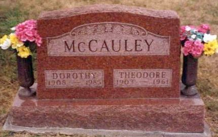 MCCAULEY, DOROTHY PEARL - Madison County, Iowa | DOROTHY PEARL MCCAULEY