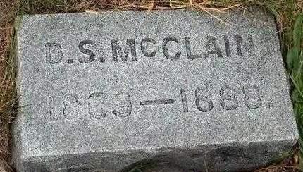 MCCLAIN, DAVID S. - Madison County, Iowa   DAVID S. MCCLAIN