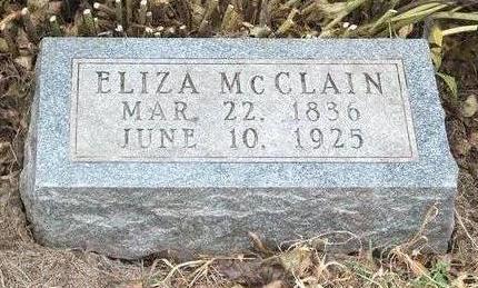MCCLAIN, ELIZA - Madison County, Iowa | ELIZA MCCLAIN