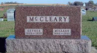 MCCLEARY, LEO ESTHER - Madison County, Iowa | LEO ESTHER MCCLEARY