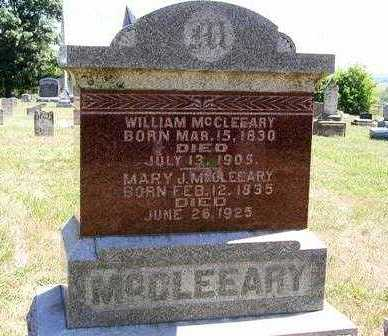 MCCLEEARY, WILLIAM - Madison County, Iowa | WILLIAM MCCLEEARY