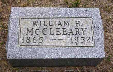 MCCLEEARY, WILLIAM H. - Madison County, Iowa   WILLIAM H. MCCLEEARY