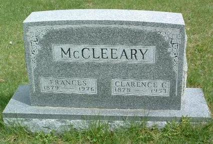 MCCLOSKEY MCCLEEARY, FRANCES - Madison County, Iowa | FRANCES MCCLOSKEY MCCLEEARY