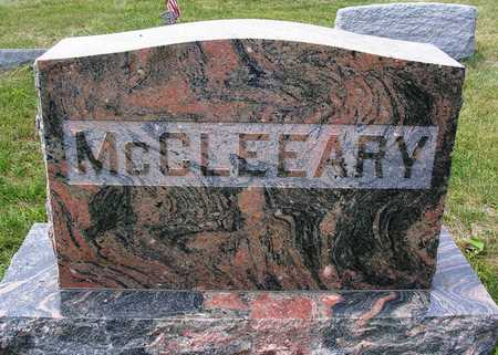 MCCLEEARY, FAMILY HEADSTONE - Madison County, Iowa | FAMILY HEADSTONE MCCLEEARY