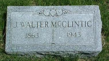 MCCLINTIC, JOHN WALTER - Madison County, Iowa | JOHN WALTER MCCLINTIC
