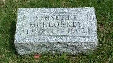 MCCLOSKEY, KENNETH E. - Madison County, Iowa | KENNETH E. MCCLOSKEY
