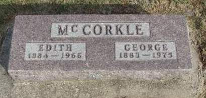 MCCORKLE, EDITH ISABELLE - Madison County, Iowa | EDITH ISABELLE MCCORKLE