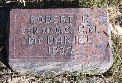 MCDANIEL, ROBERT F. - Madison County, Iowa | ROBERT F. MCDANIEL