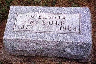 MCDOLE, MARY ELDORA (DORA) - Madison County, Iowa | MARY ELDORA (DORA) MCDOLE