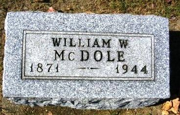 MCDOLE, WILLIAM W. - Madison County, Iowa | WILLIAM W. MCDOLE