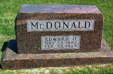 MCDONALD, EDWARD O. (ED) - Madison County, Iowa | EDWARD O. (ED) MCDONALD