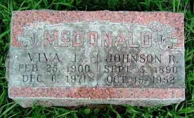 MCDONALD, JOHNSON REED - Madison County, Iowa | JOHNSON REED MCDONALD