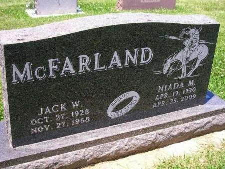 MCFARLAND, JACK W. - Madison County, Iowa | JACK W. MCFARLAND