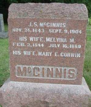 MCGINNIS, MELVINA M. - Madison County, Iowa | MELVINA M. MCGINNIS