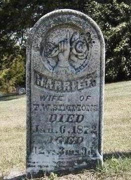 MCKAY SIMMONS, HARRIET HENRIETTA - Madison County, Iowa | HARRIET HENRIETTA MCKAY SIMMONS