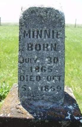 MCKEAN, MINNIE - Madison County, Iowa | MINNIE MCKEAN