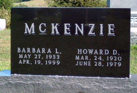MCKENZIE, HOWARD D. - Madison County, Iowa | HOWARD D. MCKENZIE