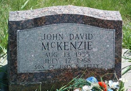 MCKENZIE, JOHN DAVID - Madison County, Iowa | JOHN DAVID MCKENZIE