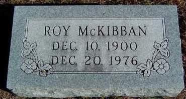 MCKIBBAN, ROY - Madison County, Iowa | ROY MCKIBBAN