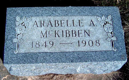 MCKIBBEN, ARABELLE AZUBA - Madison County, Iowa | ARABELLE AZUBA MCKIBBEN